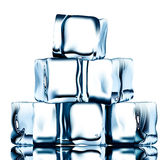 Ice pyramid Royalty Free Stock Images