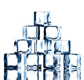 Ice pyramide 2 Royalty Free Stock Photos
