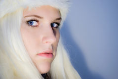Ice queen Royalty Free Stock Photo