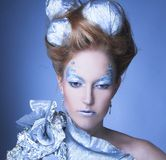 Ice-queen. Royalty Free Stock Image