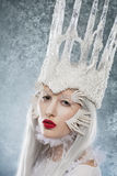 Ice-queen - portrait Royalty Free Stock Photos