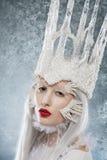 Ice-queen - portrait Royalty Free Stock Photos