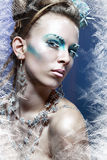 Ice-queen Royalty Free Stock Photo