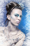 Ice-queen Royalty Free Stock Images