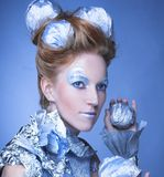 Ice-queen. Stock Images
