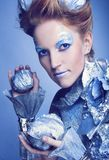 Ice-queen. Stock Image