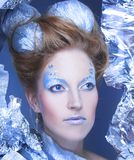 Ice-queen. Stock Photo