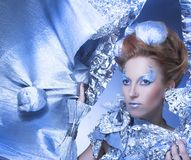 Ice-queen. Royalty Free Stock Photography