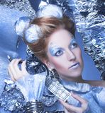 Ice-queen. Royalty Free Stock Photo
