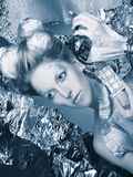 Ice-queen. Royalty Free Stock Images