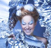 Ice-queen. Stock Photography
