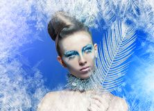 Ice-queen Royalty Free Stock Photography
