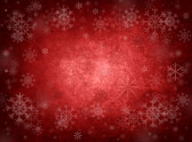 Ice red christmas background Royalty Free Stock Image