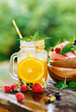 Ice Refreshing Summer Drink Royalty Free Stock Photography