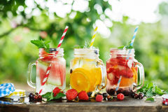 Ice Refreshing Summer Drink Stock Photos