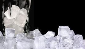 Ice refreshment Royalty Free Stock Image