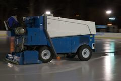 Ice resurfacer Stock Photography