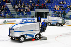Ice resurfacers Royalty Free Stock Photography