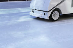 Ice resurfacing Royalty Free Stock Images