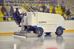 Ice resurfacing machine Stock Image