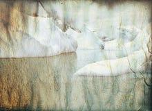 Ice retro Stock Image