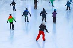 Ice_rink Fotos de Stock Royalty Free