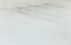 Ice rink background. Scratches on the surface of the ice rink Stock Image