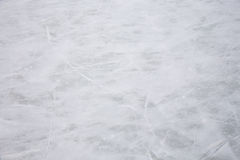 Ice rink background. Scratches on the surface of the ice rink Royalty Free Stock Image