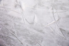 Ice rink background. Scratches on the surface of the ice rink Royalty Free Stock Photos