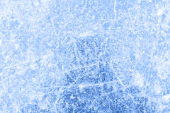 Ice rink background after a skating contest. Blue ice rink background after a skating contest stock images