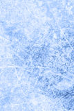 Ice rink background after a skating contest. Deep blue ice rink background after a skating contest stock photos
