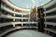 Ice rink in City Center Mall, Doha Stock Photography