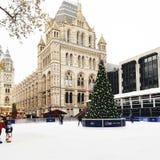 ice rink, London royalty free stock image
