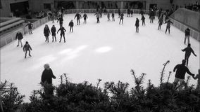New York City Ice Rink  stock video
