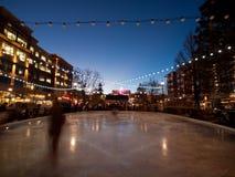 ice rink skating Στοκ Φωτογραφία