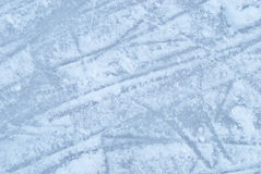 Ice rink with snow texture Stock Image