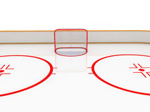Ice rinks . hockey Royalty Free Stock Image