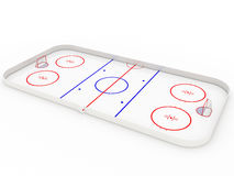 Ice rinks. hockey Royalty Free Stock Photos