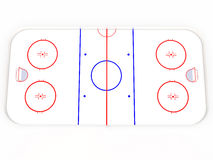 Ice rinks. hockey Stock Photography