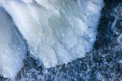 Ice and river Royalty Free Stock Images