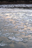 Ice river Royalty Free Stock Photo