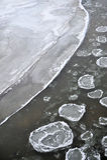 Ice river Royalty Free Stock Photos
