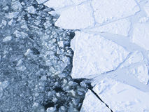 Ice on the river Royalty Free Stock Photography