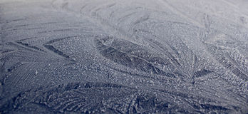 Ice On Car Roof Stock Images