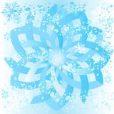 Ice rosette stock images