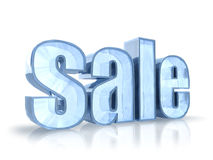 Ice Sale Tag Stock Photos