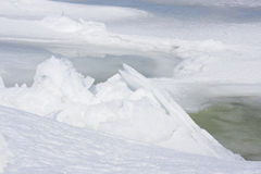 Ice Scape Stock Photography