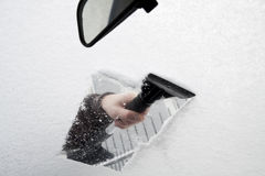 Ice scraper Stock Image