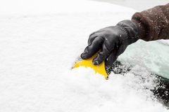 Ice scraper Stock Photography