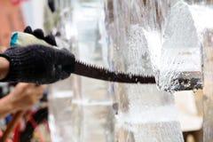 Ice Sculpting Stock Photos